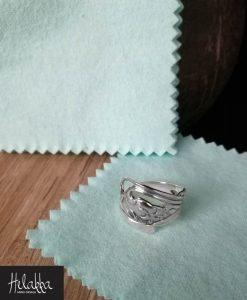 kiillotusliina hopealle